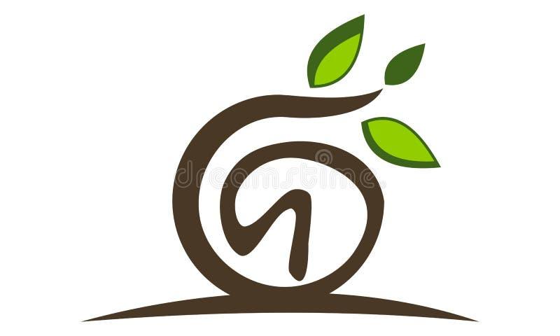 Symbol för landskapdesignlösningar royaltyfri illustrationer