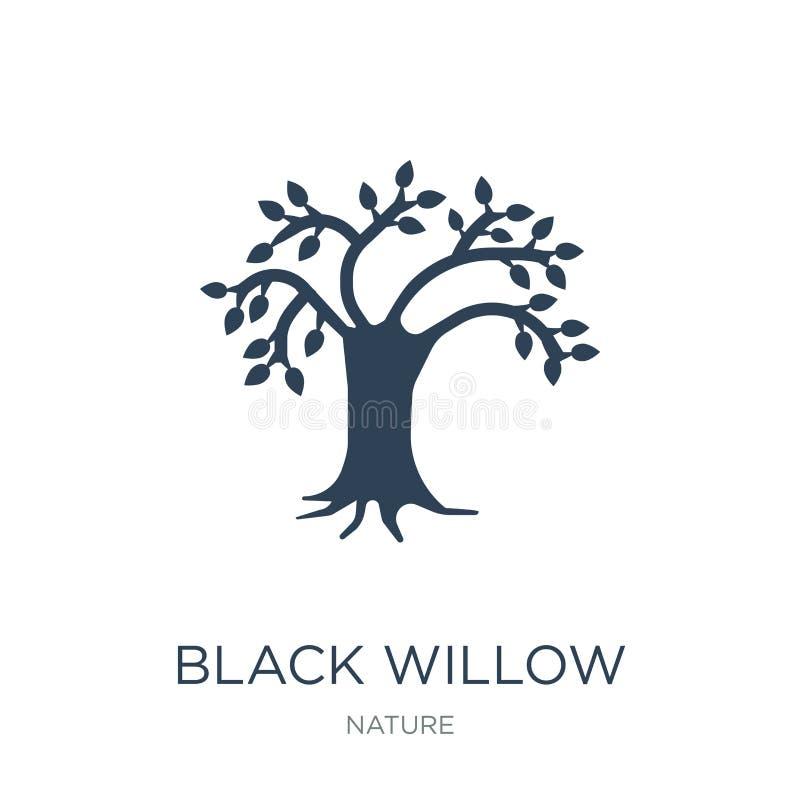 symbol för svart pil i moderiktig designstil symbol för svart pil som isoleras på vit bakgrund enkel vektorsymbol för svart pil o vektor illustrationer