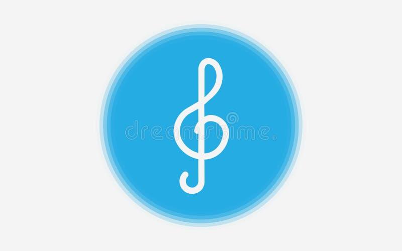 Symbol för tecken för klavvektorsymbol vektor illustrationer