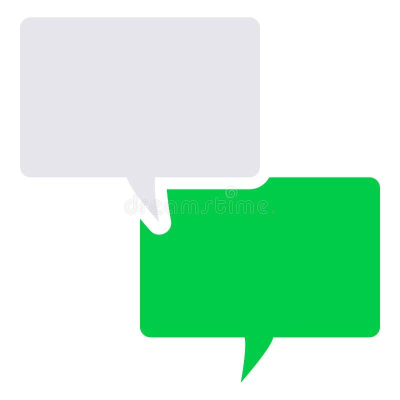 Symbol för textmeddelande stock illustrationer
