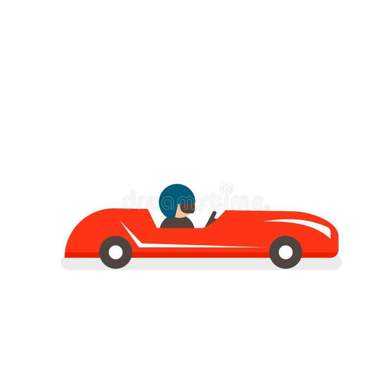 Symbol för tvålaskderby stock illustrationer