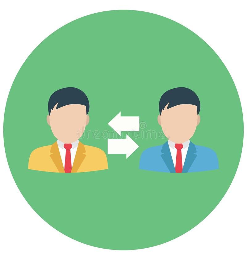 Symbol för vektor för förskjutningsändring färg isolerad som kan vara lätt att redigera eller ändrat stock illustrationer