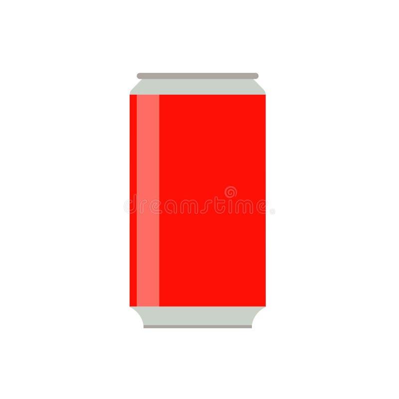 Symbol för vektor för tecken för rött nytt objekt för sodavattenflaska vård- ren Fruktsaft för drycken för drinkcolaprodukten kan vektor illustrationer