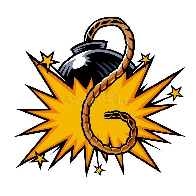Symbol för vektorfärgkomiker vektor illustrationer