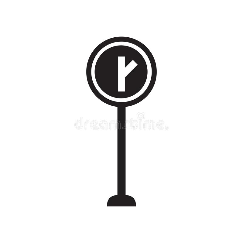 Symbol för y-genomskärningstecken  royaltyfri illustrationer