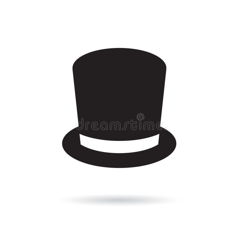 Symbol f?r b?sta hatt vektor illustrationer