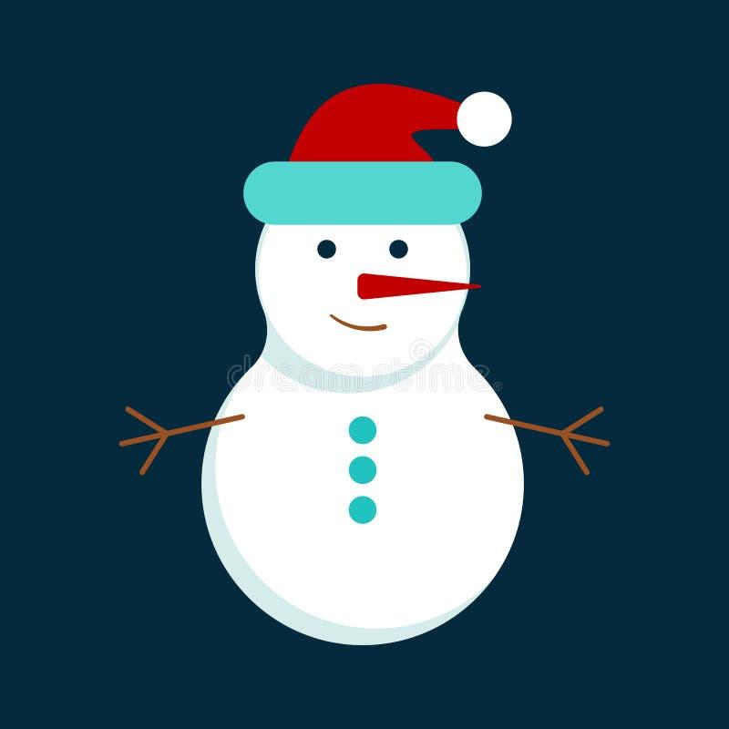 Symbol f?r jul och f?r nytt ?r royaltyfri illustrationer