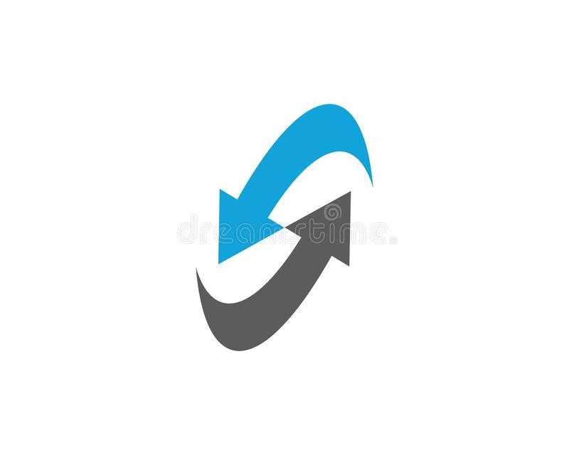 Symbol f?r pilvektorillustration stock illustrationer