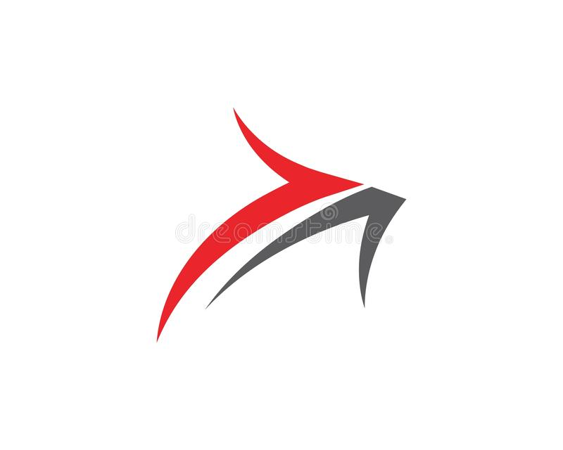 Symbol f?r pilvektorillustration vektor illustrationer