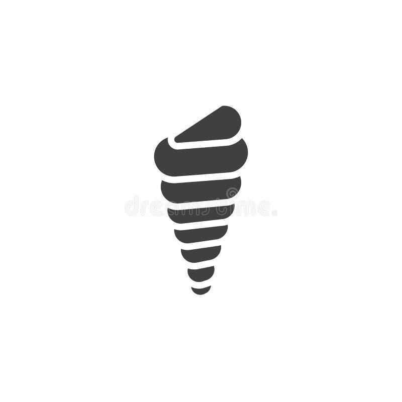 Symbol f?r trumpetsn?ckaskalvektor vektor illustrationer