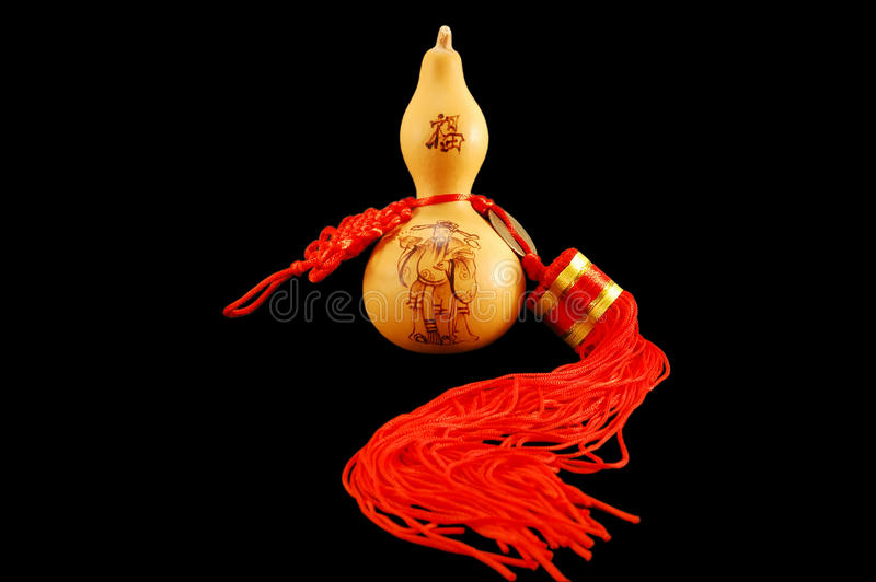 The Symbol Of Feng Shui Pumpkin Wu Lu Stock Image Image Of