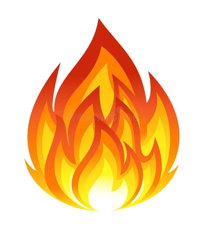 Download Symbol of fire stock illustration. Illustration of inferno - 33207365