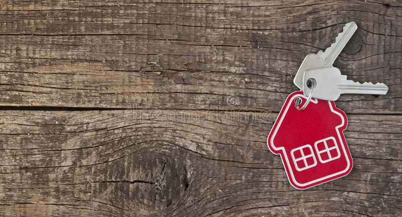 Download Symbol Of The House With Silver Key Stock Photo - Image: 38737552