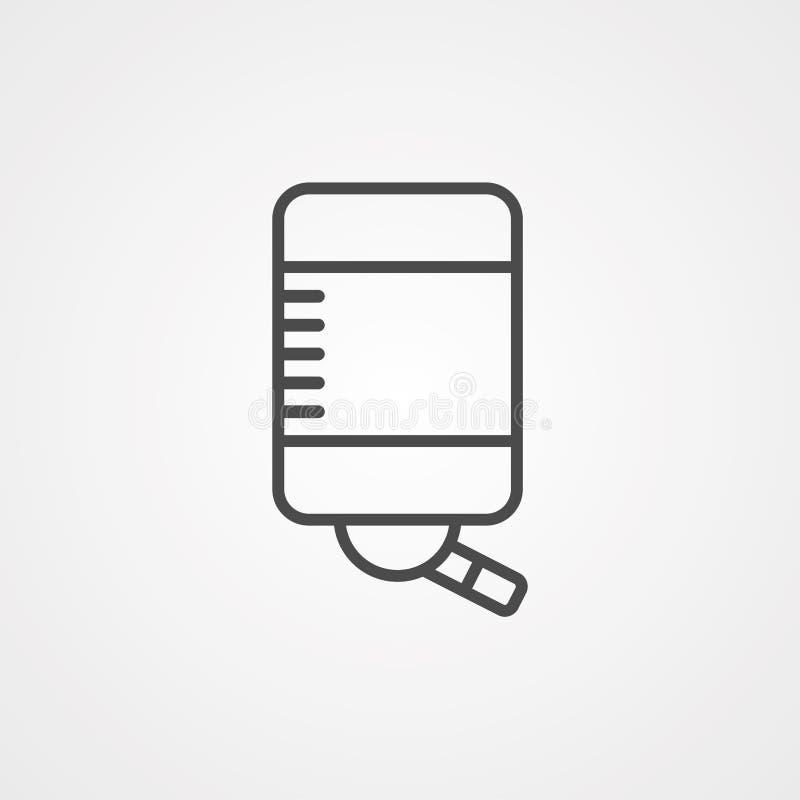 Symbol ikony dozownika wody ilustracji