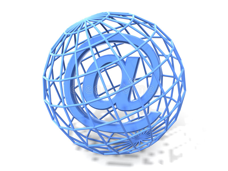 Download Symbol for internet. 3d stock illustration. Image of explorer - 2735515