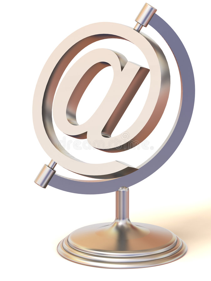 Download Symbol For Internet Stock Photo - Image: 4123430