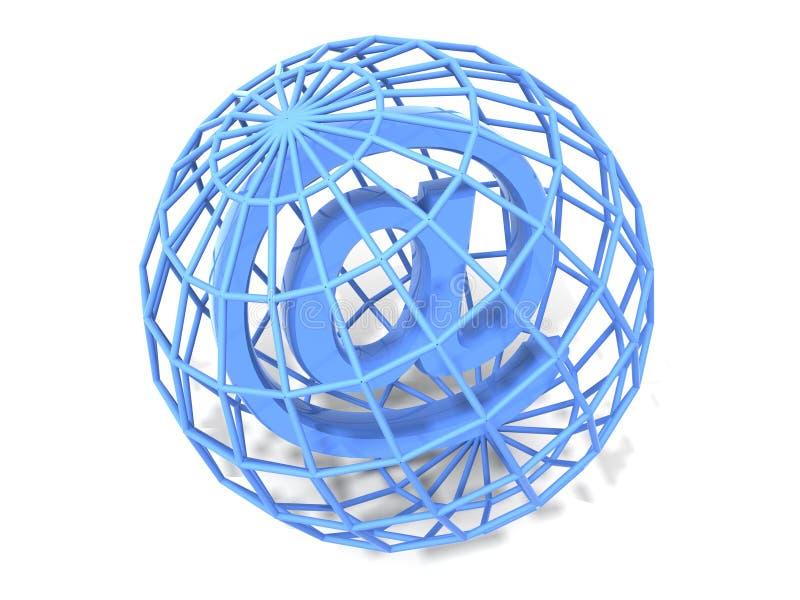 symbol internetu ilustracja wektor