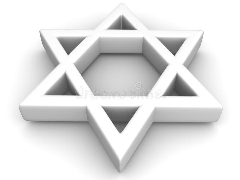 Symbol of Israel. 3d Very beautiful three-dimensional illustration vector illustration