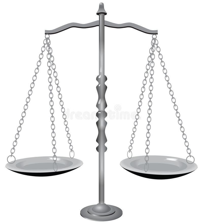 Symbol Of Justice Royalty Free Stock Photo