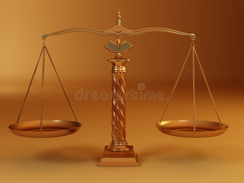 Download Symbol Of Justice. Scale Stock Photography - Image: 12889772