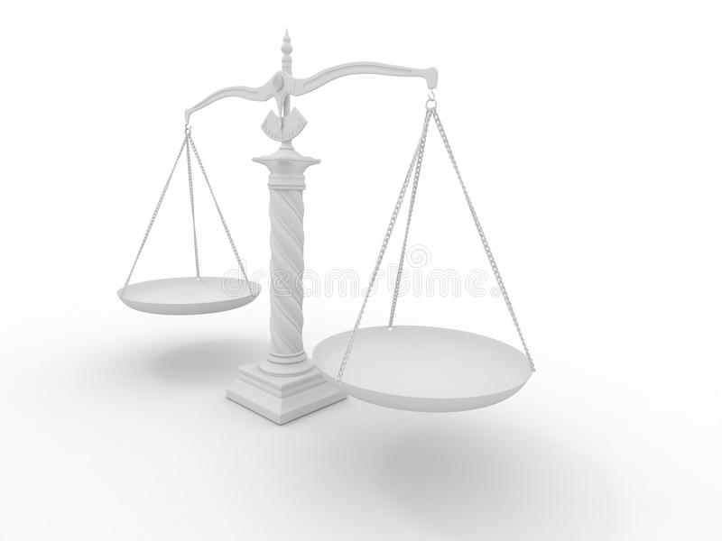 Symbol Of Justice Scale Stock Illustration Illustration Of