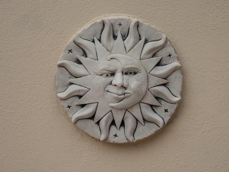 Symbol księżyc i obrazy royalty free