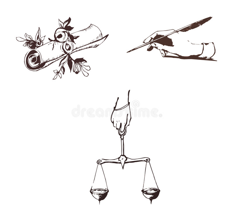 symbol of literature stock vector illustration of balance   symbol of literature stock vector illustration of balance 8703809