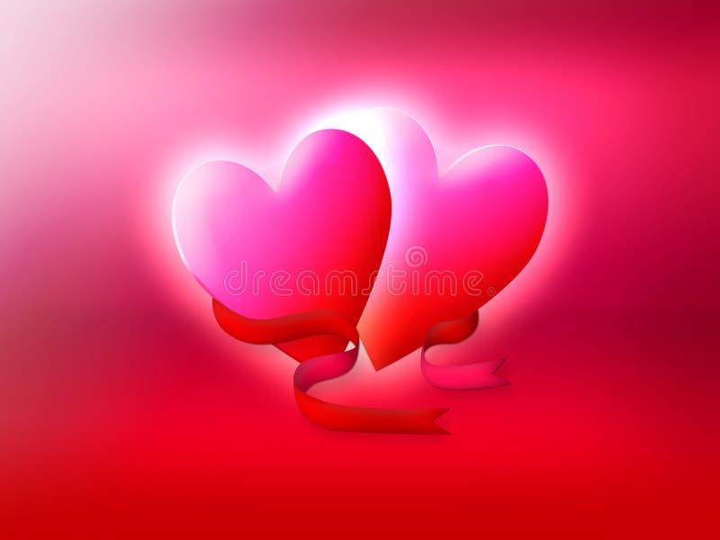 Symbol of love stock illustration