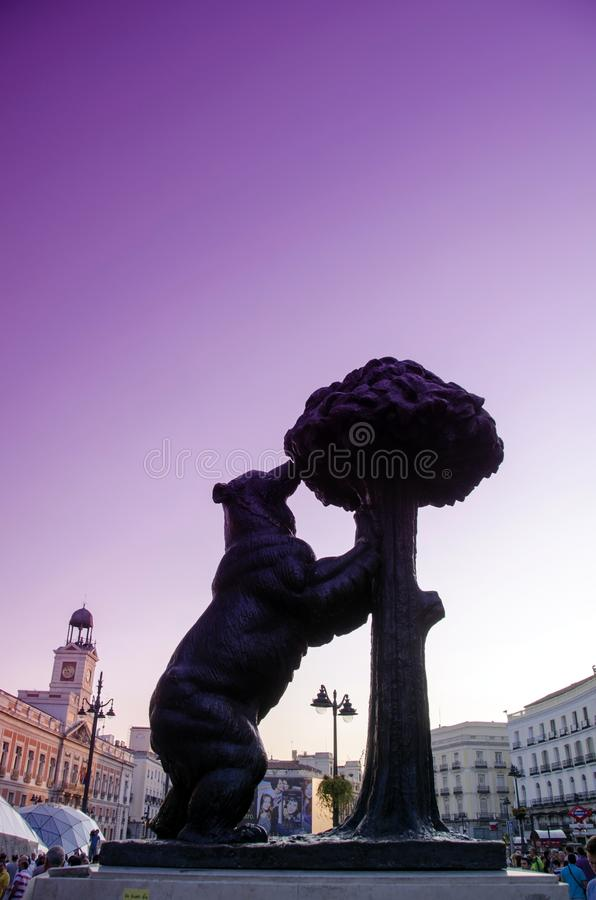 Symbol Of Madrid Editorial Stock Photo