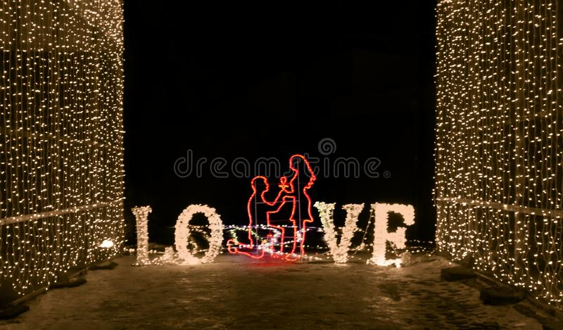 Symbol miłość obraz royalty free
