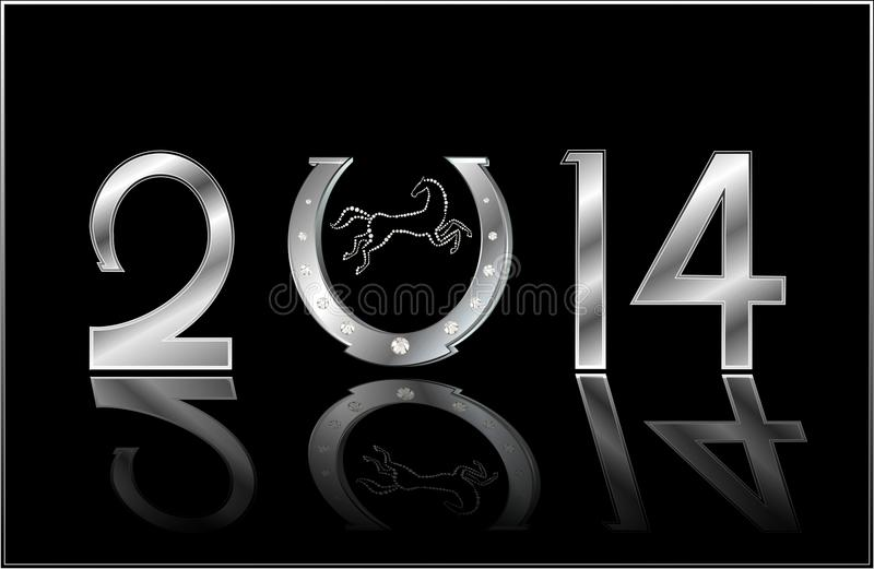 Symbol of the New Year royalty free stock photo