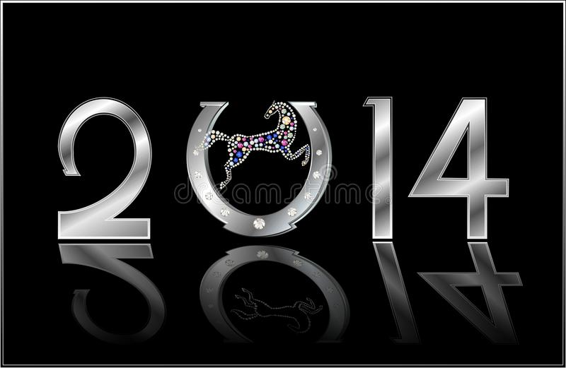 Symbol of the New Year stock photos