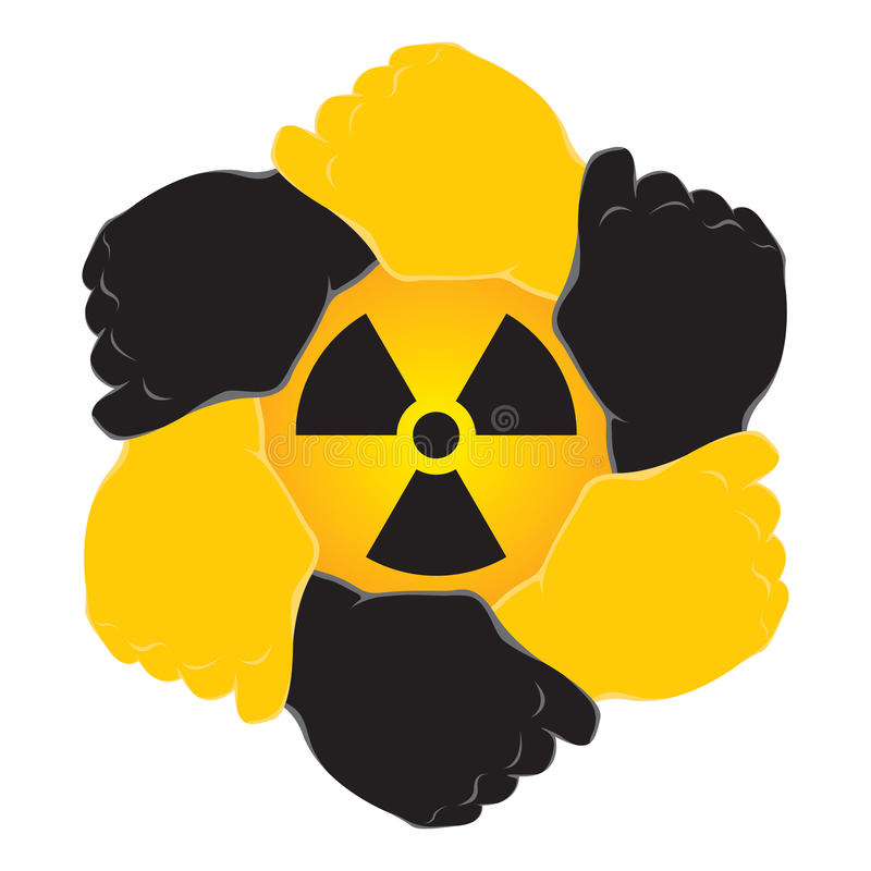Download Symbol nuclear stock vector. Image of crew, care, deal - 19944883