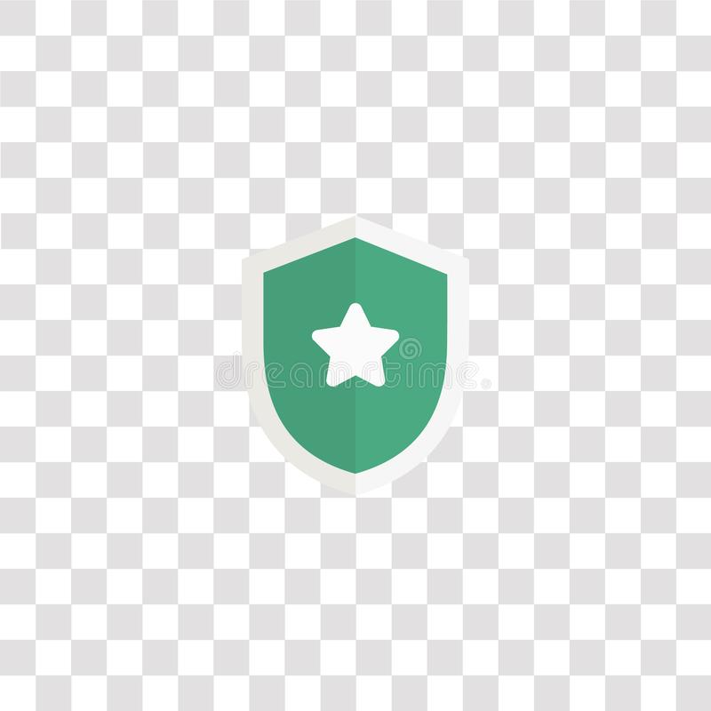 symbol och symbol för skyddsikon skydda färgikonen för webbplatsdesign och utveckling av mobilappar Enkelt element från vanliga p vektor illustrationer