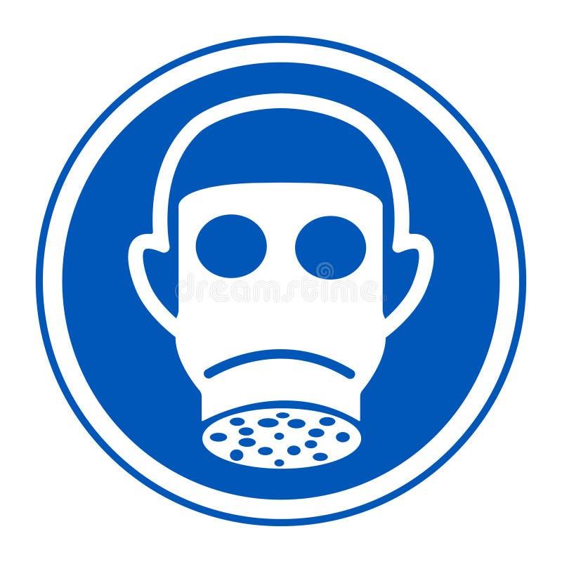 Symbol odzieży Pełnej twarzy znak Odizolowywa Na Białym tle, Wektorowa ilustracja EPS 10 ilustracji