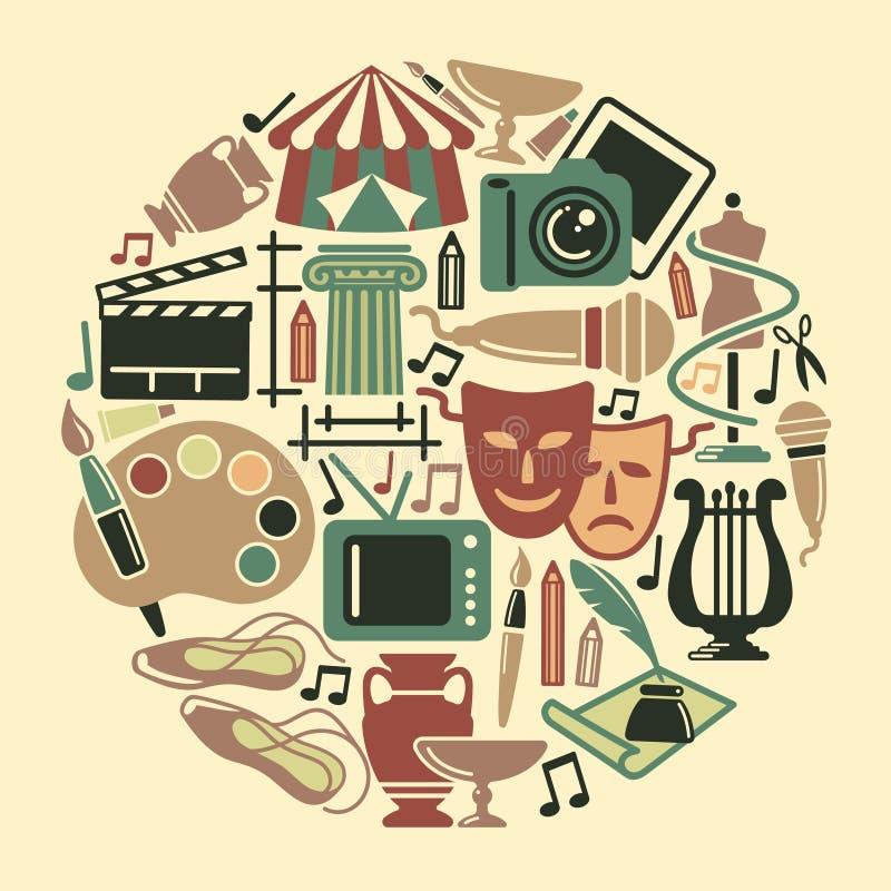 Free Symbol Of Arts Stock Image - 38346081