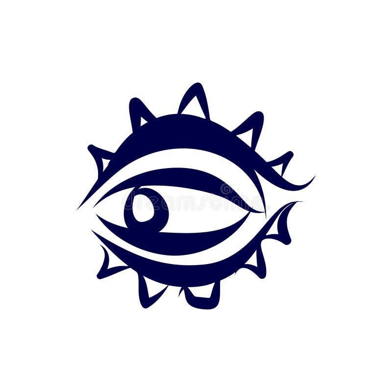 Symbol oko royalty ilustracja