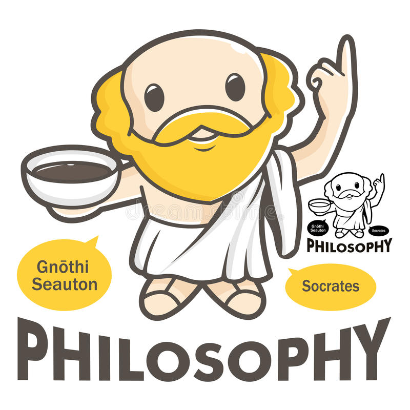 A symbol of the philosophy Socrates