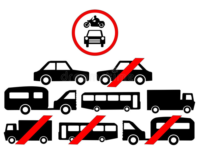 symbol pojazdu ilustracji