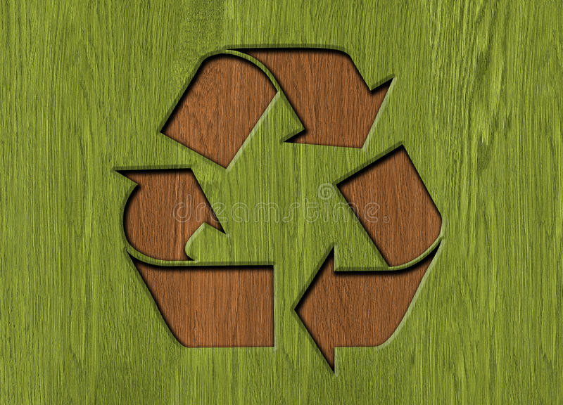 symbol recyklingu royalty ilustracja