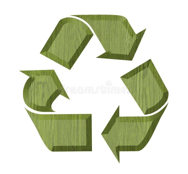 symbol recyklingu etykietka royalty ilustracja
