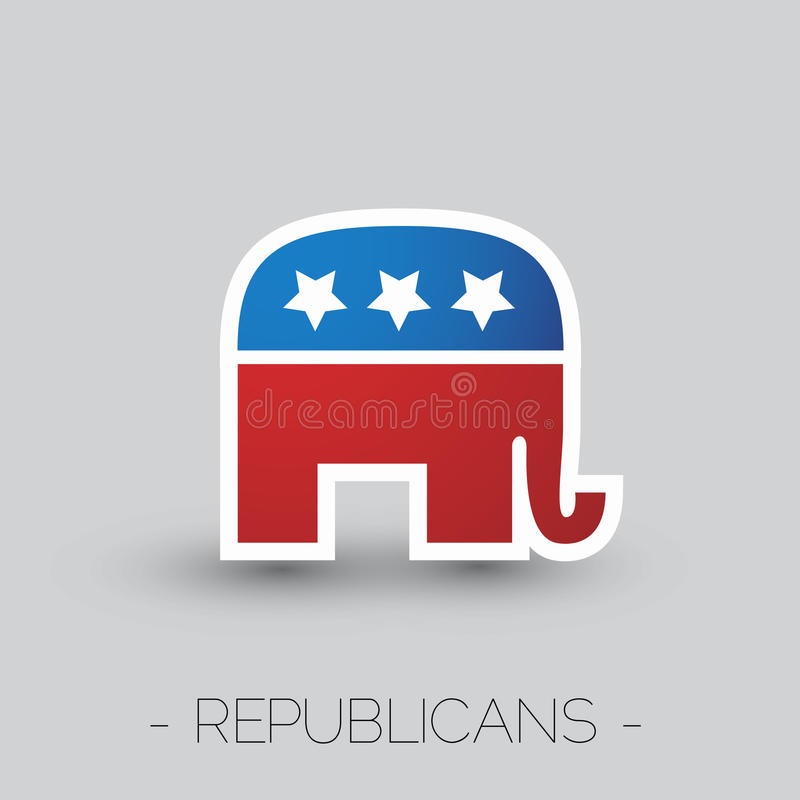 The Symbol Of The Republican Party Of The Usa Editorial Photo