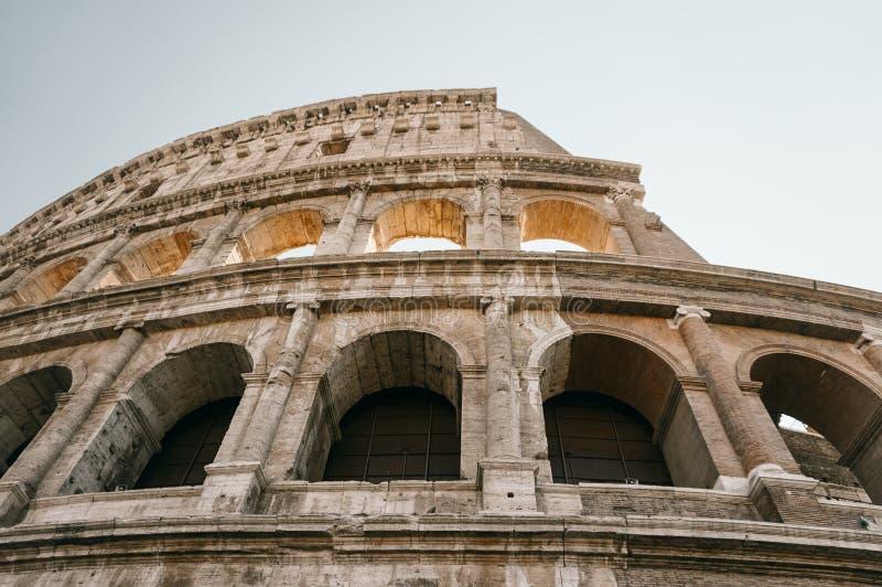 Symbol Rzym amfiteatr Colosseum, zdjęcia stock