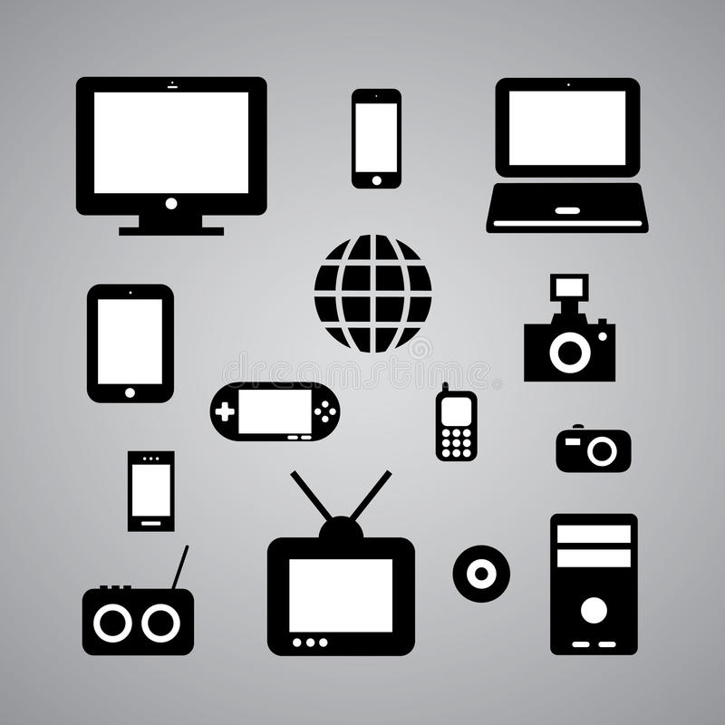 Download Symbol set stock illustration. Image of game, digital - 33100049