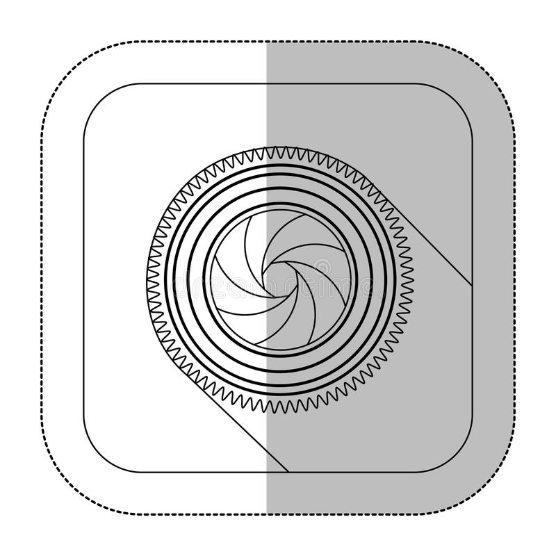 symbol short film icon vector illustration