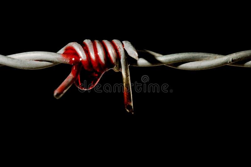 Symbol of torture stock photos