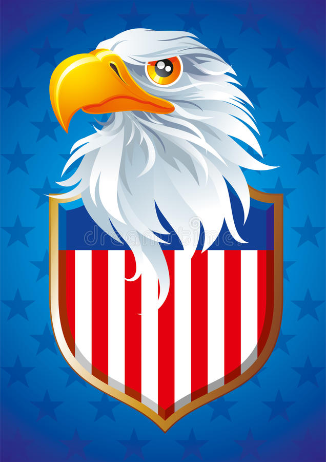 Download Symbol of USA stock vector. Illustration of wind, america - 28796859