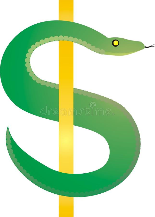 Symbol Usa dolar royalty ilustracja