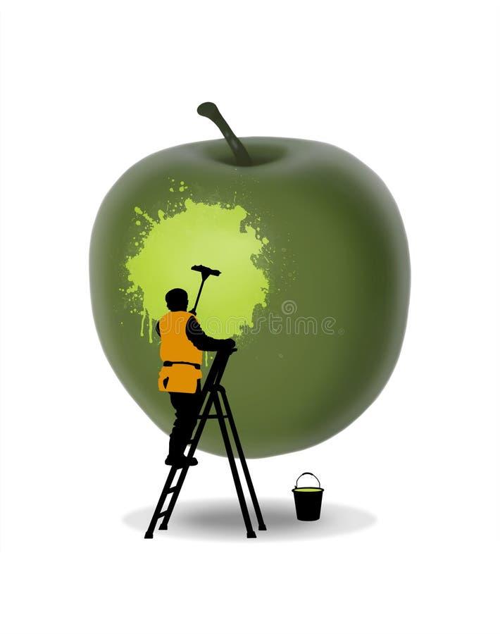 Fruchtreinigung vektor abbildung