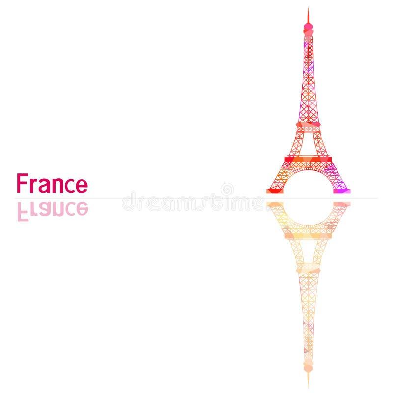 Symbol von Frankreich vektor abbildung